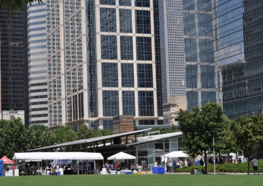 Discovery Green Fair and Buildings