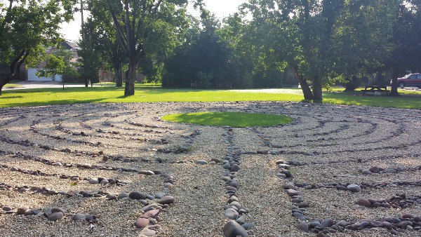 Faith Lutheran Labyrinth Bellaire