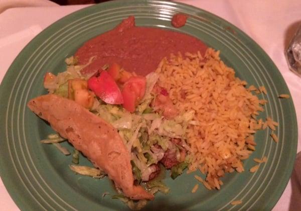 Los Tios Mexican Plate