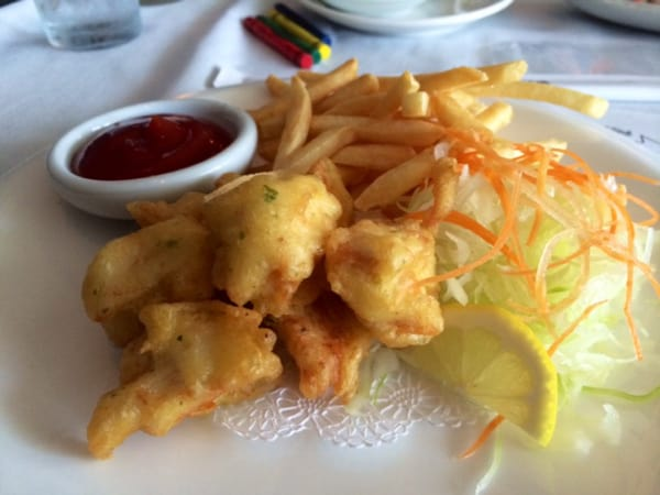 Sushi King Tempura Chicken from Kids Menu