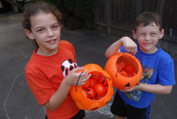 Buckets of Halloween Hugs