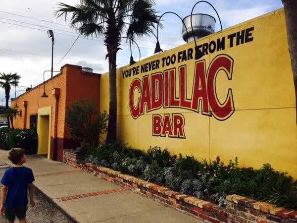 Cadillac Bar in Houston Heights