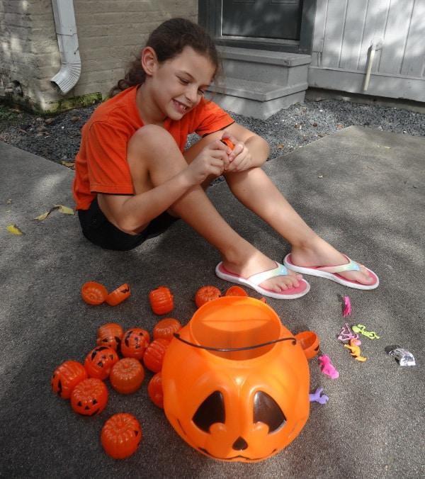 Halloween Egg Hunt Treasure