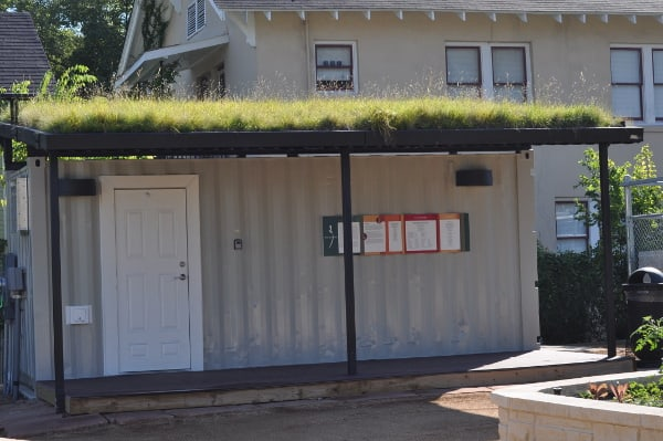 Mandell Park Grass on Roof