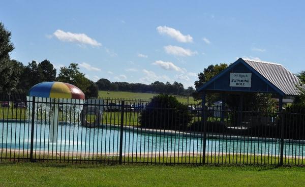 Oil Ranch Swimming Pool