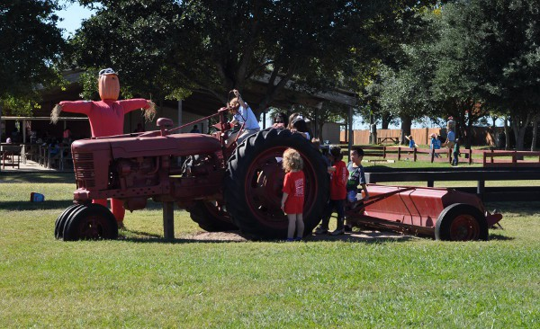 Oil Ranch Tractor