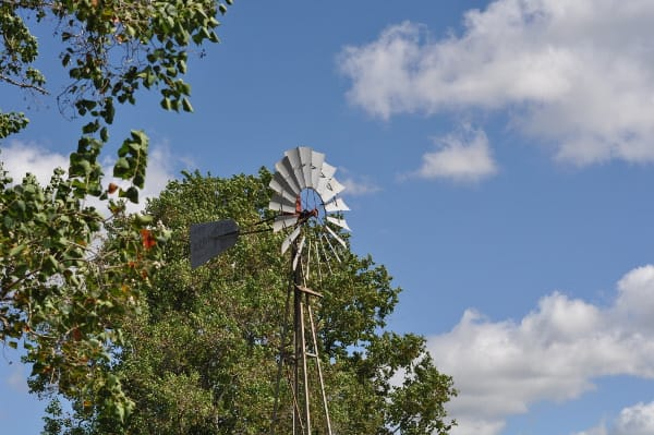 The Oil Ranch Windmill