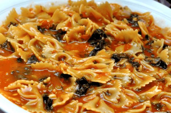 One Pot Pasta Ready to Serve