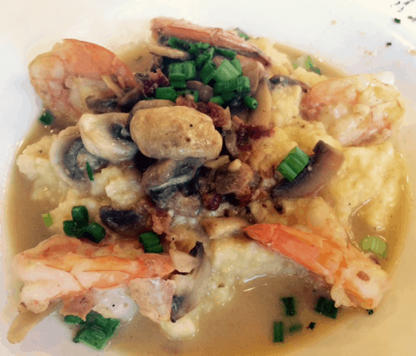 Shrimp and Grits from The Bird and The Bear