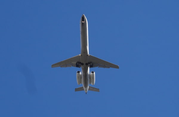 Airplane Above Schott Park
