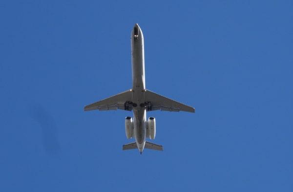 Airplane Above Schott Park