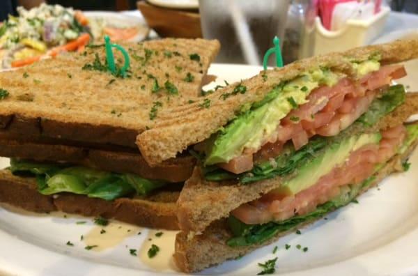 Epicure Cafe Club Sandwich