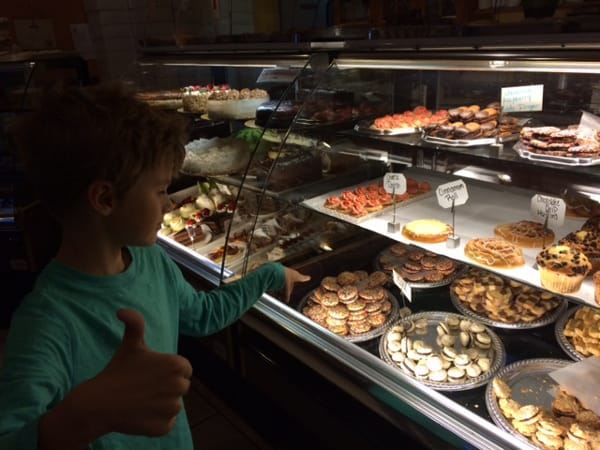 Epicure Cafe Pastry Case