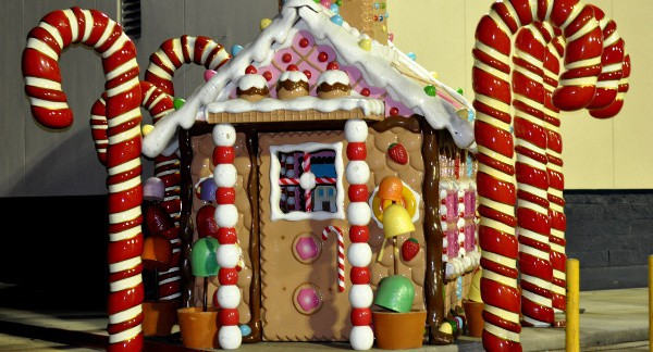 Gingerbread House at Gallery Furniture