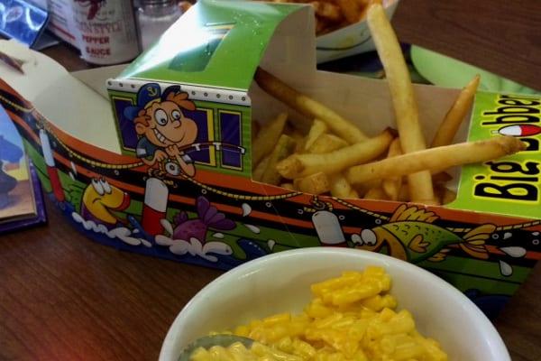 Ragin Cajun Kids Meal