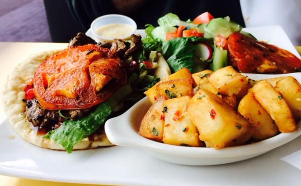 Skewers Cafe Duck Plate