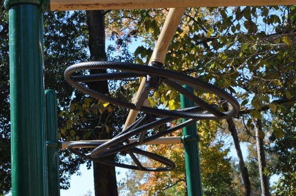 Don and Sylvia Collins Park Monkey Bar Wheels