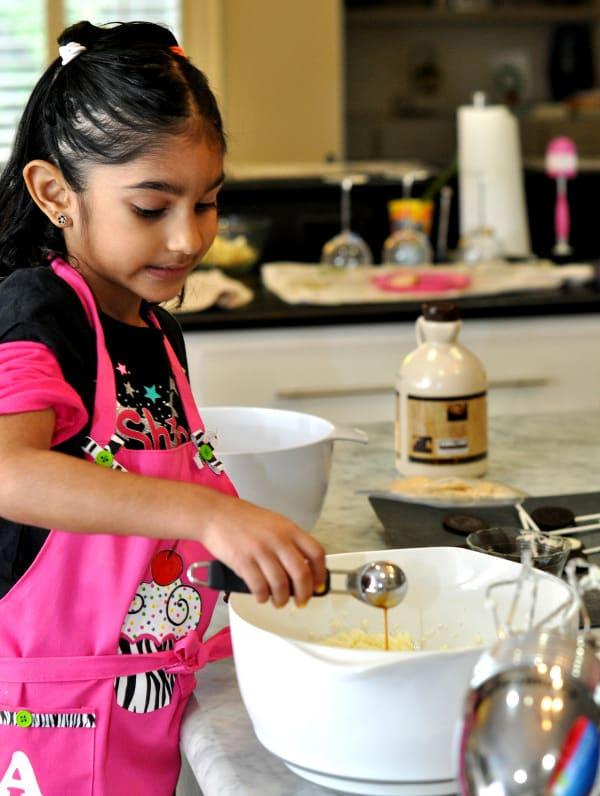 Helping Mom Make Cookies