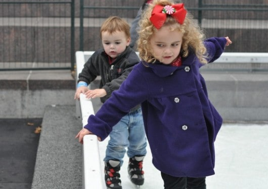 Kids in Discovery Green Ice Box