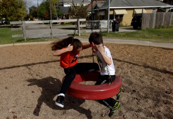 Lawrence Park Tire Swing