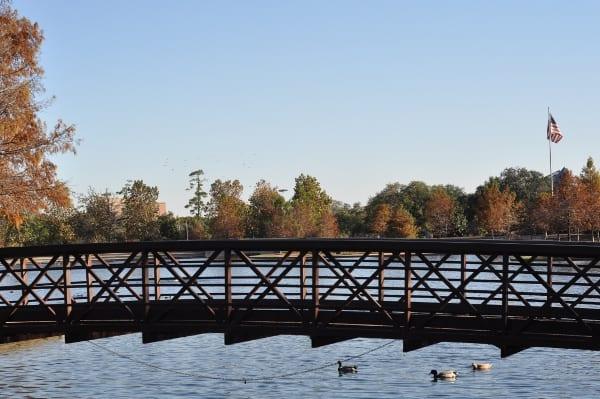 McGovern Lake at Hermann Park