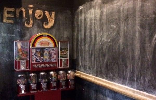 Skeeters Chalkboard Walls