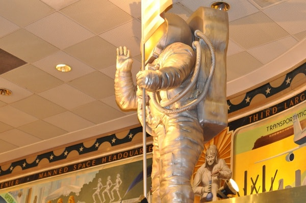 Astronaut at Houston Visitor Center