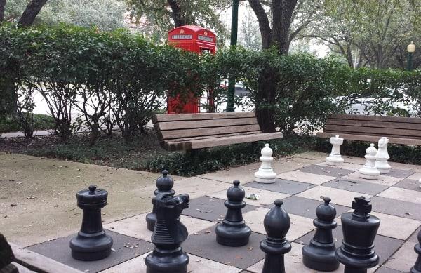 Black Lab Chess Board