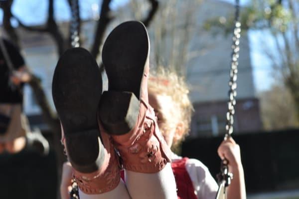 Cowboy Boots at Swing