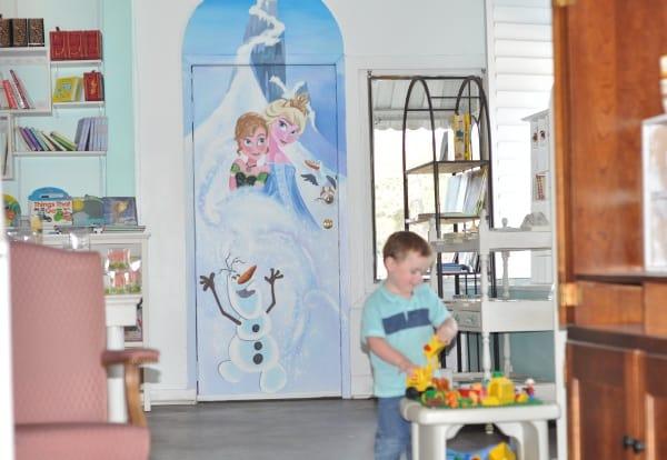 Frozen Door at Heights Candy Door