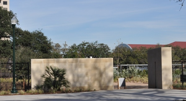 Hermann Park Centennial Gardens Entrance