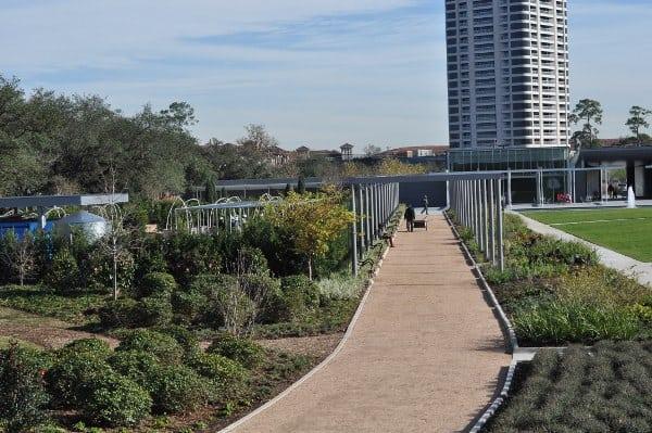 Hermann Park Centennial Gardens Path