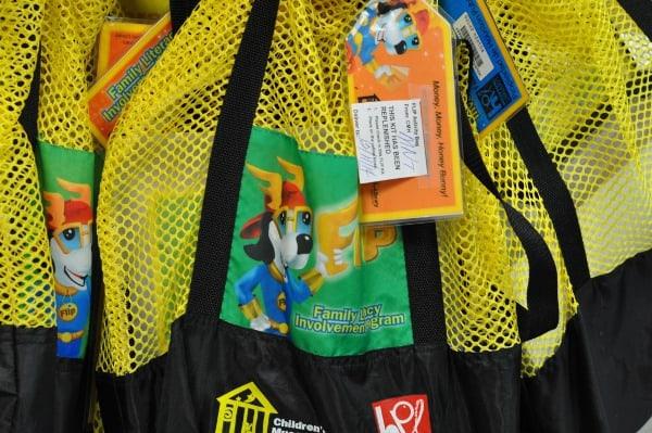 Houston Public Library Flip Bags