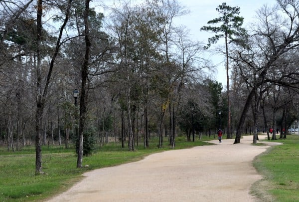 Jogging Trail at Memorial Park
