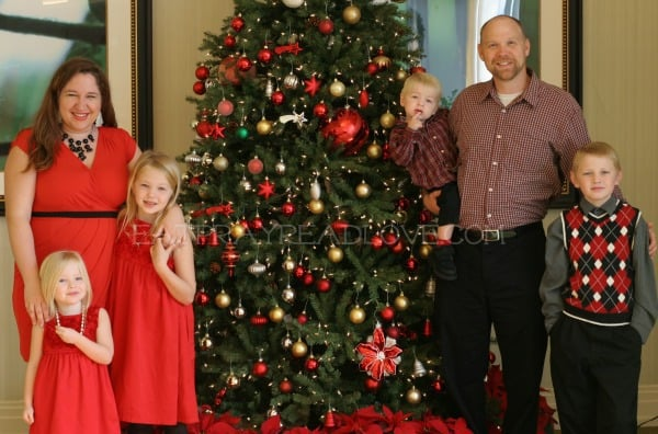 Kelli Hays Eat Pray Read Love Family Photo