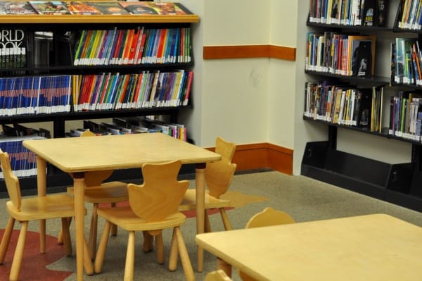 Looscan Houston Public Library Kid Tables