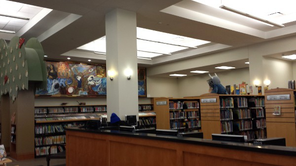 Looscan Library Childrens Section