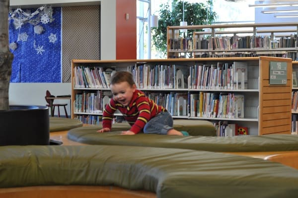 McGovern Stella Link Houston Library Kid Area