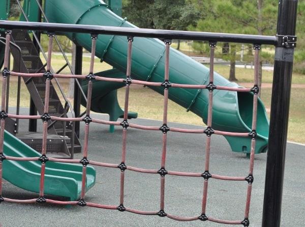 Memorial Park Playground Climbing