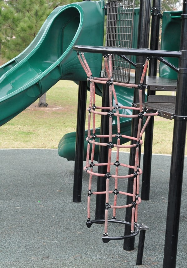 Memorial Park Playground Ladder