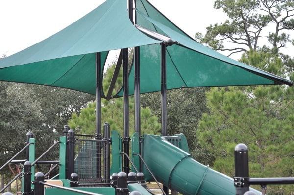 Memorial Park Shaded Playground