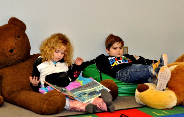 Reading at Montrose Library