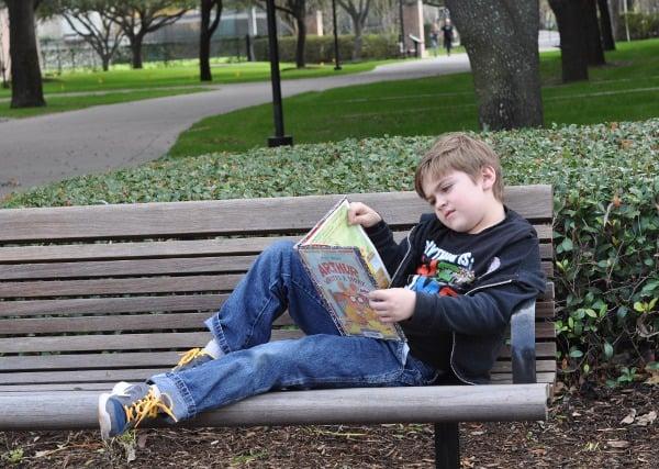 Reading at University of St Thomas Houston