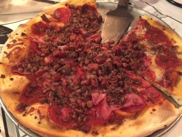 T Rex Pizza at Candelaris Pizzeria