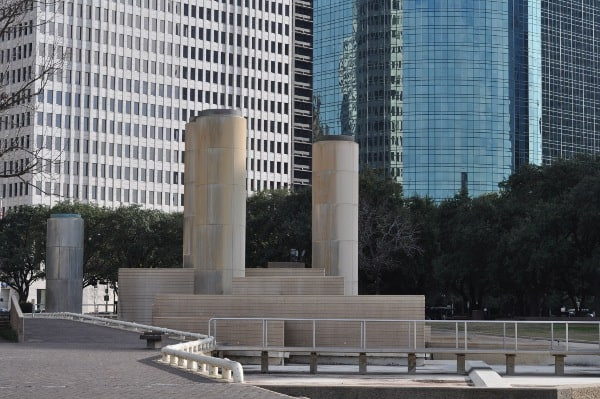 Tranquility Park Downtown Houston