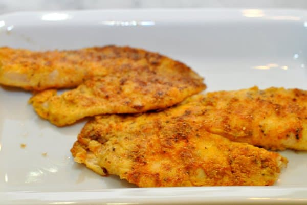 Cornmeal Crusted Tilapia