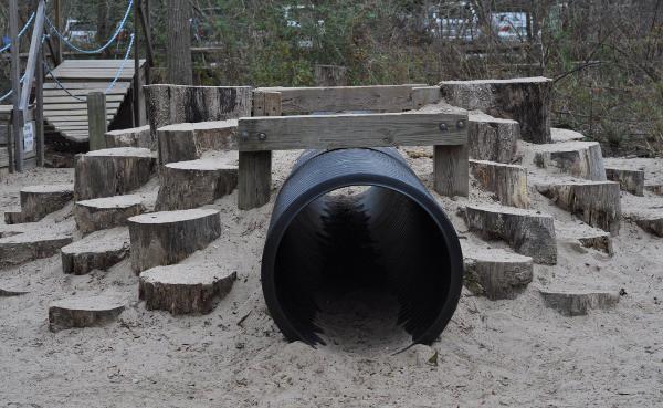 Houston Arboretum Playground Tunnel