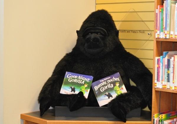 Houston Childrens Museum Public Library Gorilla