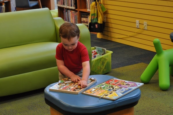 Houston Childrens Museum Public Library Play Table