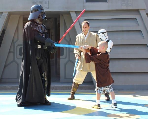 Jedi Academy Training at Walt Disney World